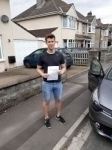 Tom Carter passed with Rob Milne School Of Motoring