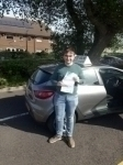 Tristan Bowman passed with Rob Milne School Of Motoring