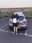 Will Cruse passed with Rob Milne School Of Motoring