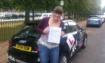 Rebecca passed with cf14 School Of Motoring