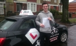 Aaron passed with cf14 School Of Motoring