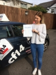 Abbie 17/02/2017 passed with cf14 School Of Motoring