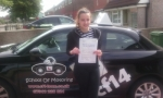 Agata passed with cf14 School Of Motoring