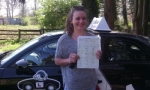 Alice passed with cf14 School Of Motoring