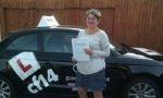 Allie passed with cf14 School Of Motoring