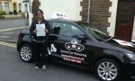 Kolie passed with cf14 School Of Motoring