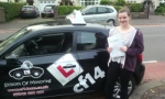 Amy passed with cf14 School Of Motoring