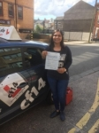 Ankita 19/05/2017 passed with cf14 School Of Motoring