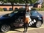 Anna passed with cf14 School Of Motoring