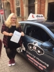 Annie 17/07/2017 passed with cf14 School Of Motoring