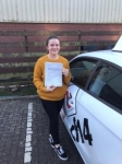 Ashley 30/11/17 passed with cf14 School Of Motoring