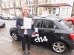 Barbara 14.02.18 passed with cf14 School Of Motoring