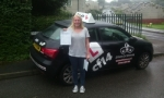Becca passed with cf14 School Of Motoring