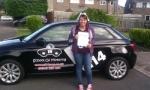 Becki passed with cf14 School Of Motoring