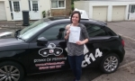Becky 22/06/2016 passed with cf14 School Of Motoring