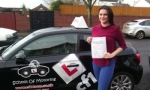 Bethan passed with cf14 School Of Motoring
