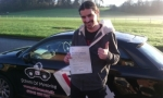 Byron passed with cf14 School Of Motoring