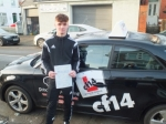 Callum 12.12.17 passed with cf14 School Of Motoring