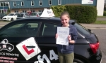Carys passed with cf14 School Of Motoring