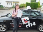Cerys 18.07.18 passed with cf14 School Of Motoring