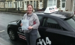 Christie passed with cf14 School Of Motoring