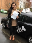 Christina 06/02/2017 passed with cf14 School Of Motoring
