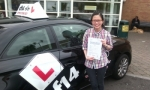 Cindy passed with cf14 School Of Motoring