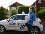 Gwilym 18/08/17 passed with cf14 School Of Motoring