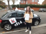 Hattie 21.11.17 passed with cf14 School Of Motoring