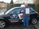 William 23/11/2017 passed with cf14 School Of Motoring