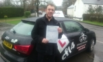 Dan passed with cf14 School Of Motoring