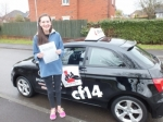 Emily 02.04.18 passed with cf14 School Of Motoring