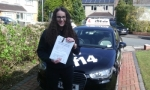 Emily passed with cf14 School Of Motoring