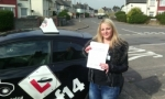 Emma passed with cf14 School Of Motoring
