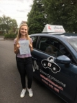 Evie 24/08/17 passed with cf14 School Of Motoring