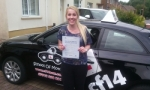 Nicola passed with cf14 School Of Motoring