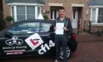 Finley passed with cf14 School Of Motoring