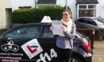 Chloe passed with cf14 School Of Motoring