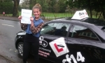 Flo passed with cf14 School Of Motoring