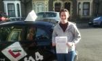Gemma passed with cf14 School Of Motoring