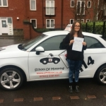 Giorgia passed with cf14 School Of Motoring