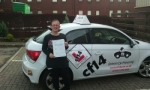 Hannah 27/12/2016 passed with cf14 School Of Motoring