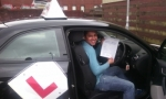 Hardik passed with cf14 School Of Motoring