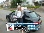 Lucy 09.05.18 passed with cf14 School Of Motoring