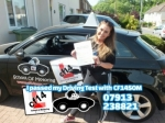 Lorna 22.05.18 passed with cf14 School Of Motoring