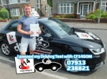 Cameron 16.07.18 passed with cf14 School Of Motoring