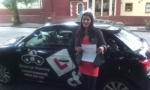 Shandeet passed with cf14 School Of Motoring