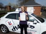 Becky 24/03/2017 passed with cf14 School Of Motoring