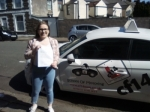 Rebecca 18/04/2017 passed with cf14 School Of Motoring