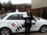 Sarah 20/05/2017 passed with cf14 School Of Motoring